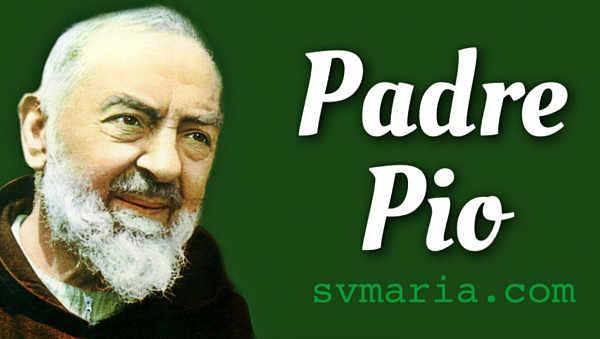 Preghiera a Padre Pio - San Pio da Pietralcina foto italiano preghiera sempliice