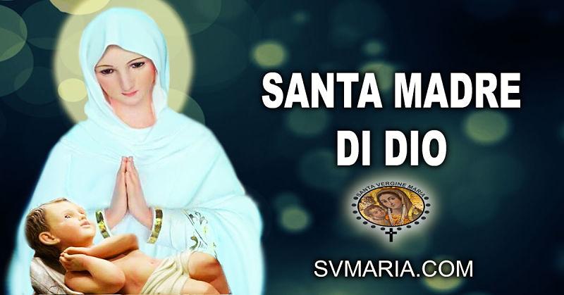 PREGHIERA MARIA MADRE DI DIO