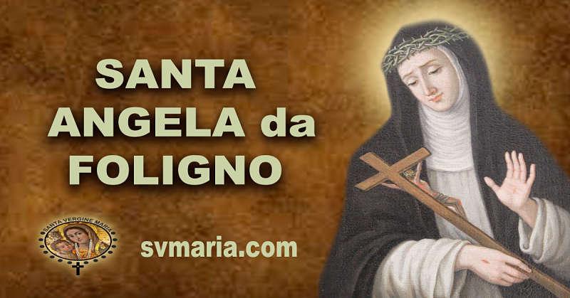PREGHIERA A SANTA ANGELA DA FOLIGNO